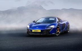 Картинка McLaren, Front, Supercar, Fog, 650S, Ligth