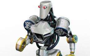 Картинка робот, Tekken, combot, Tournament 2
