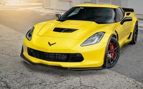 Картинка Z06, Corvette, Chevrolet, Strasse Wheels