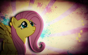 Картинка пони, Grunge, My Little Pony, Fluttershy, pony, mlp, Флаттершай, JustaninnocentPony