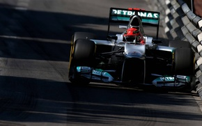 Картинка mercedes benz, Michael Schumacher