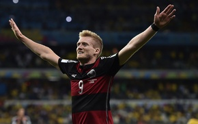 Картинка Германия, Футбол, Бразилия, Germany, Football, Deutschland, Sport, Футболист, Гол, Brasil, ФИФА, FIFA, Игрок, World Cup …