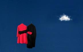 Картинка небо, одежда, облако