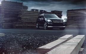 Обои авто, mercedes-benz ml63 amg, стиль, дизайн, марка