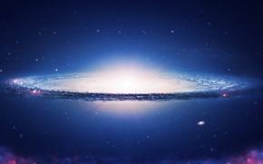 Картинка space, sky, galaxy, spiral