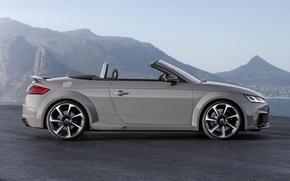 Картинка Audi, Roadster, Ауди, Серый, Профиль, Родстер