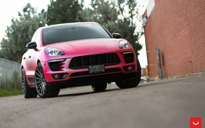 Картинка Порш, Vossen Wheels, диски, wheels, auto, машина, авто, Porsche, Macan