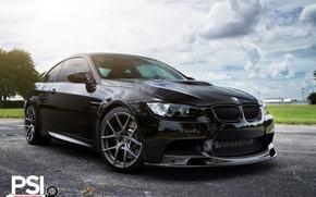 Картинка BMW, Black, Jet, E92, in nuanta