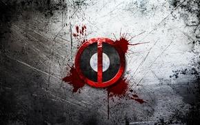 Картинка лого, logo, Deadpool, Marvel, Дэдпул, Марвел