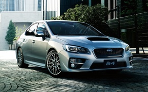 Обои 2014, субару, Subaru, WRX
