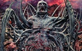 Картинка metal, horror, Deathcore, brutal, Headwound The Pony