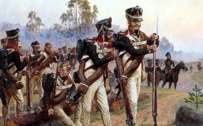 Картинка soldier, war, history, uniform, Averyanov Alexander, june 1812