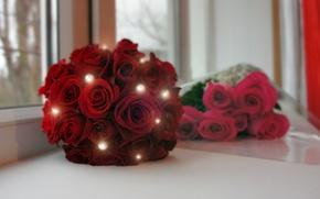 Картинка розы, букет, свадьба