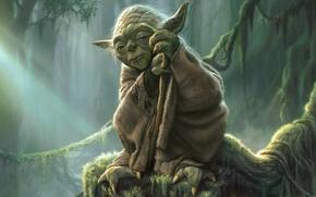 Картинка Star Wars, Йода, Yoda, Джедай, Магистр