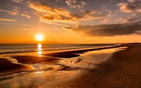Картинка пляж, солнце, океан