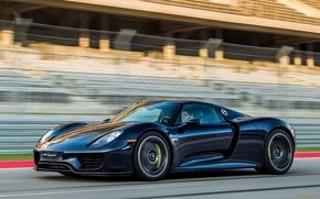 Картинка дорога, скорость, Porsche