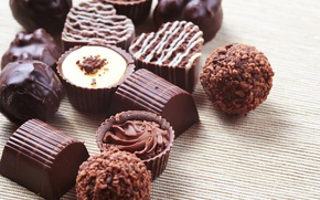 Картинка шоколад, конфеты, сладости, десерт, chocolate, глазурь, sweets, candy, молочный