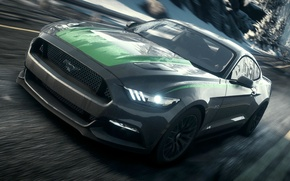 Картинка Mustang, Ford, Shelby, Need for Speed, nfs, 2013, Rivals, 2015, NFSR, нфс