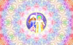 Картинка цвета, свет, абстракция, фон, узор, графика, блеск, цвет, круг, радуга, свечение, текстура, Любовь, красиво, сфера, ...