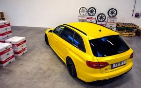 Картинка Audi, тюнинг, Ауди, спорткар, RS4