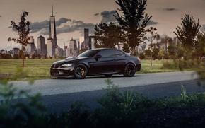 Картинка бмв, кабриолет, black, BMW M3, Hardtop