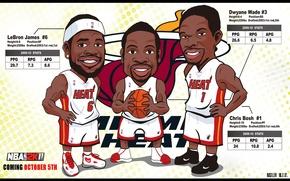 Картинка James, NBA, MVP, Miami Heat, LBJ
