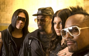 Обои the black eyed peas, блек ай пис, музыка, группа