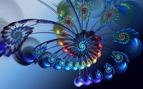 Картинка by dragonfly113, rainbow flower, штука