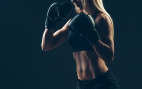 Обои training, Boxing, sportswear, transpiration