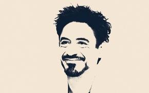 Картинка портрет, арт, Robert Downey Jr