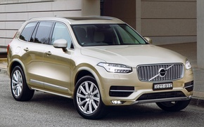 Обои XC90, вольво, 2015, Volvo, AU-spec, Inscription