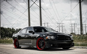 Картинка Dodge, srt, Charger, Motoring