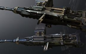 Картинка будущее, Оружие, Crysis