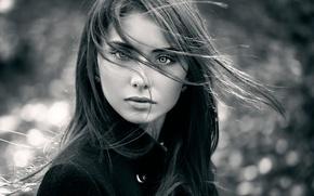 Картинка взгляд, портрет, прелесть, Nataly, natural light, Autumn portrait