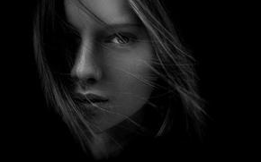 Картинка портрет, прелесть, natural light, Olya