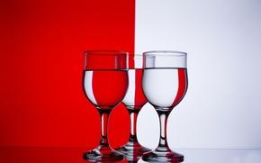 Картинка цвет, бокалы, red, white