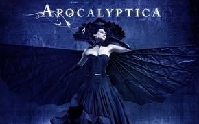 Картинка Apocalyptica, альтернативный метал, Symphonic Metal, прогрессивный метал, инструментальный метал, Cello Metal, симфонический метал, виолончельный метал, …