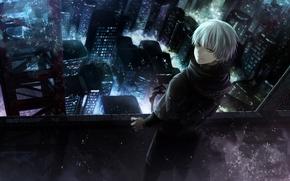 Картинка anime, art, токийский гуль, Tokyo Ghoul, Ken Kaneki