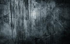 Картинка серый, стена, царапины