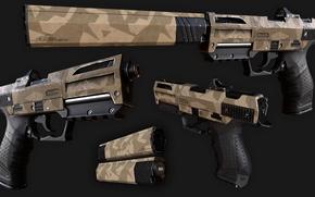 Картинка rifle, camouflage, gun