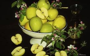 Картинка яблоки, сок, фрукт, яблоня