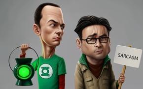 Картинка лампа, Теория большого взрыва, The Big Bang Theory, шелдон, леонард, сарказм