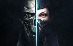 Обои Bethesda, Dishonored 2, Arkane Studios, Emily, Эмили, Девушка