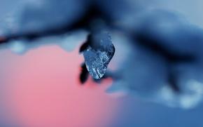 Картинка снег, лёд, Diamond