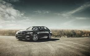 Картинка бмв, BMW, черная, black, f10