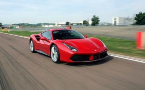 Картинка Ferrari, GTB, 488