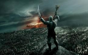 Картинка фэнтези, орки, войско, The Hobbit: The Battle of the Five Armies, Хоббит: Битва пяти воинств