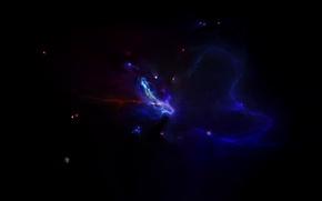 Картинка звезды, планета, свечение, созвездие, another nebula