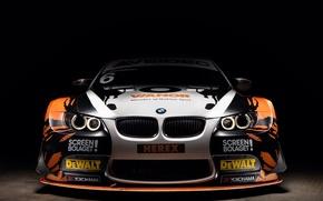 Картинка BMW, front, E92, 3 Series, Yokohama, аэродинамический обвес, racing car, Screen Bolaget, DeWalt, Herex, Vianor