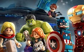 Картинка железный человек, халк, marvel, лего, тор, Lego, марвел, captain america, капитан америка, thor, hulk, iron …